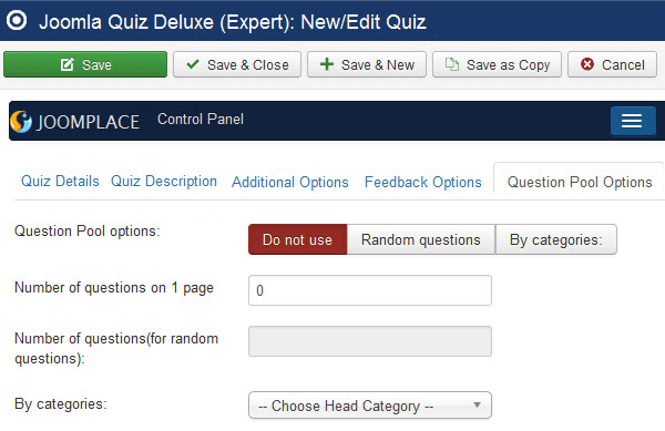 quiz deluxe question pools questions