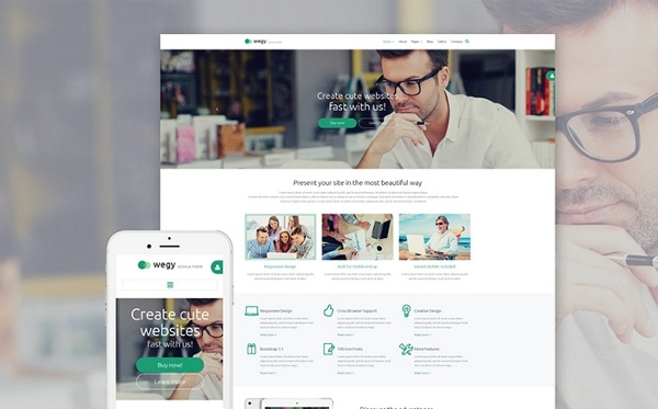 Wegy Design Business Joomla Theme