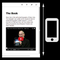 html5 flipping book media pages